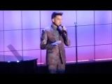 Adam Lambert Trevor Live 2013 WYWFM AMAZING VOICE