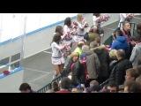 SKA SISTERS на матче СКА-Автомобилист