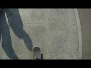 Несколько попыток сделать трёшку, видео без монтажа GoPro