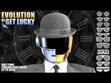 Как звучала бы песня Daft Punk - Get Lucky в разные десятилетия с 1920 по 2020 годы