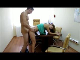 Секс на работе скрытвя камера