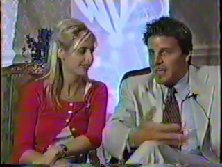 Sarah Michelle Gellar David Boreanaz Interview