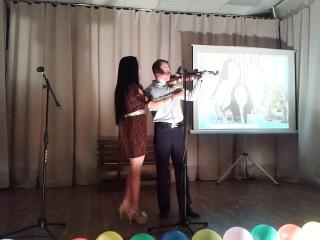 Трио Violini в Песочнице_игра с залом:) на Сцене антикафе