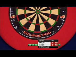 Simon Whitlock vs Ted Hankey (Grand Slam of Darts 2013 / Second Round)