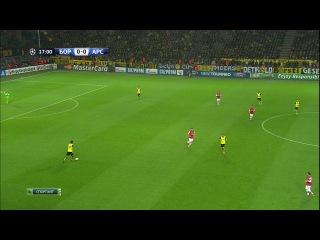 Лига Чемпионов 2013-14.Группа F.4-й тур.Боруссия Д - Арсенал : 0 - 1 (1-й тайм) (6.11.2013)