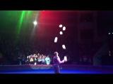 Жонглёр. 8 шаров