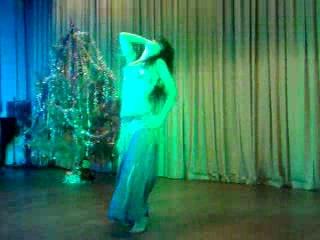 танец жывота на Рождество