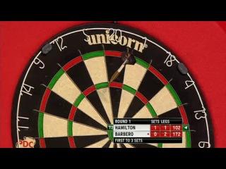 Andy Hamilton vs Julio Barbero (PDC World Darts Championship 2014 / Round 1)
