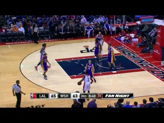 Nene Sets a New Career-High Against the Lakers
