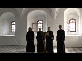 Хор Свято-Троицкого Александра Свирского мужского монастыря.Христос Воскресе (византийский распев)
