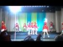 Наши первые выступления на сцене. Танец Барабанщицы. Ансамбль танца Разноцветные искорки ЦРТДиЮ г. Новосибирск