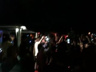 На концерте Децла в клубе феймос