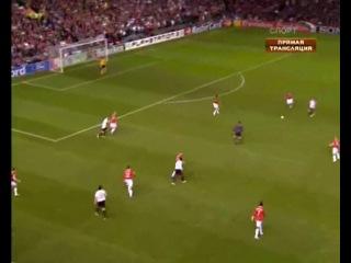 Лига Чемпионов УЕФА 2006-2007. Полуфинал. Манчестер Юнайтед (Великобритания)- Милан (Италия) Первый матч. Запись с ТК Спорт