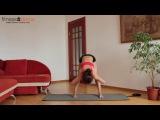Фитнес дома: Супер-сжигающая тренировка для ног от Юлии Богдан