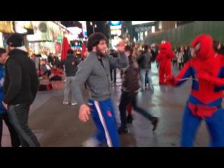 хасан халиев vs spider man
