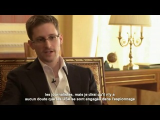 interview Edward Snowden en français