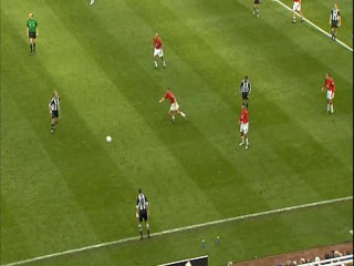 Обзор матча. 15.09.2001 - Newcastle United vs Manchester United, сезон 2001-2002