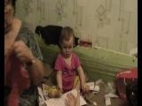 Алёнка в гостях 15.12.2013 г. Дембель, Женька в Перми