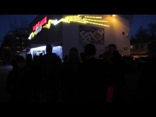 очередь на входе в Форсаж 29.03 концерт Дзидзьо!