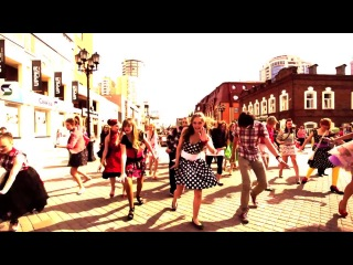 Флеш-моб 'Стиляги' Танец