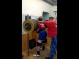 Тимур Гадиев - присед 400 килограммов на два раза