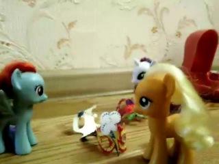 май литл пони:-) сила радуги!