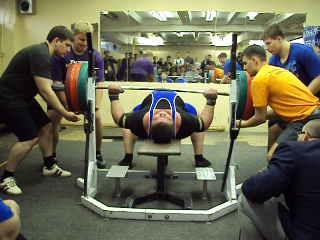 Абиджба Роман Жим 342,5 кг