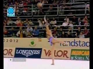 алина кабаева с мячом, финал чемпионата мира 2001