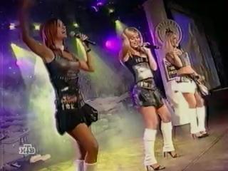 гр. ''Блестящие'' - 2004 выступление в клубе ''Метелица'' (Апельсиновый рай)