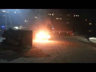 Вечером в Заводоуковске [20.12.2013]