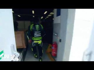 MotoGP 2013, Гран-При Великобритании, Сильверстоун. Падения Кэла Крачлоу на свободной сессии