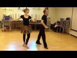 Artem Nekrasov studio - cha cha basic routine 2