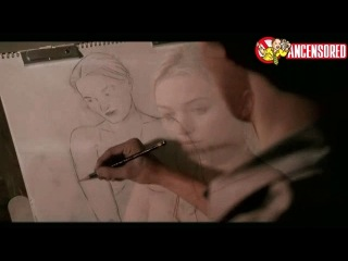 Sophia Myles Nude in Art School Confidential (2006)