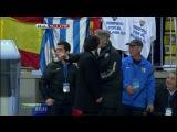 Кубок Испании 2012-13 / Copa Del Rey / 1/4 финала / Ответный матч / Малага — Барселона / 2 тайм [HD720p]