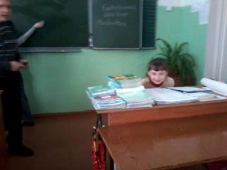 алёна Соколова-приведение (в школе)