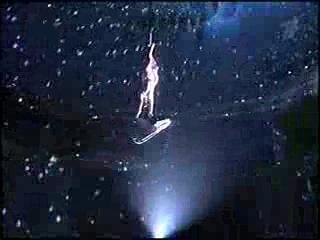 Цирк со звездами. Ирина Лачина. Полотна (подготовка, номер и оценки жюри)
