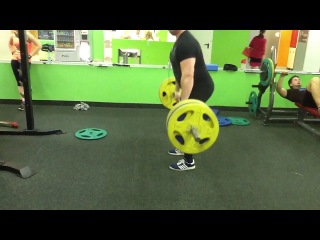 DEADLIFT 210x3. 3 round