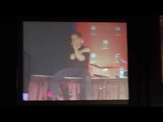 James Marsters Sex Scenes with Sarah Michelle Gellar (Montreal Comic Con 2011)