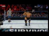 Survivior Series 2010. Randy Orton vs Wade Barret - WWE Championship - with John Cena as guest referee