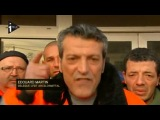 Edouard Martin sadresse à François Hollande - 6 décembre 2012