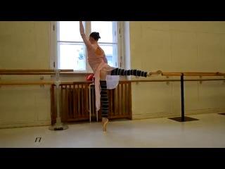 Natalie Kusch. Завтрак балерины