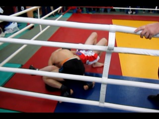 БК Росомаха (Mixfight) - Элдияр Алиев от 01.04.2012