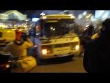 Як тікав 'Беркут' Київ, ніч 2.12, 2013