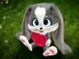 Классный детский клип)))) зайчик, детки, детский мультик, детский клип, 2013, 2014