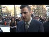 Интервью с премьеры фильма «Стартрек: Возмездие» в Лондоне (2 мая, 2013)