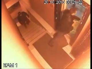 Задержание подозреваемого в нападении на полицейского