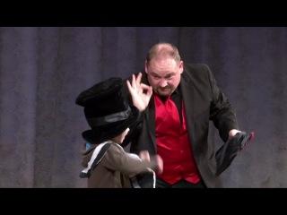 Фокус с голубем. Американский глухой фокусник Морган в Москве