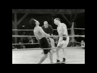 Чарли Чаплин. Бокс. Огни большого города. 1931