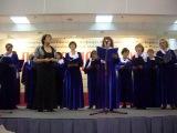 Выступление академического  женского хора пермского Дома учителя на выставке-форуме Православная Русь в августе 2012 г.