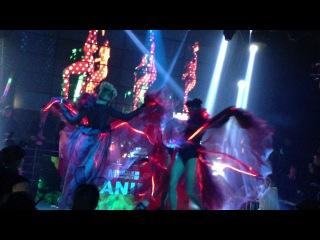 Dj Olivia Anima live perform in Shenzhen M1 club,(China tour 2012)